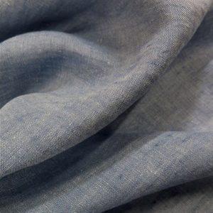 matière lin bleu