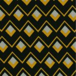 fond noir losange jaune