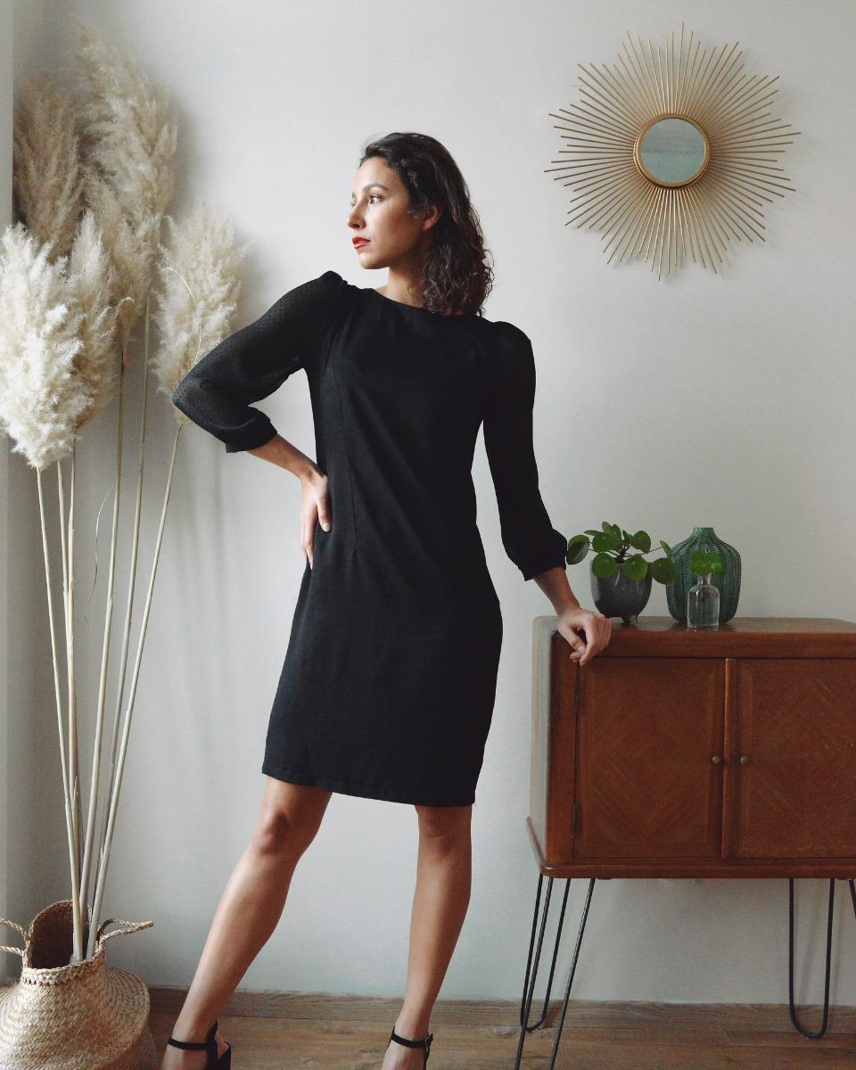 8d657d27305 robe femme la plaisante twill viscose manches plumetis fier comme un paon