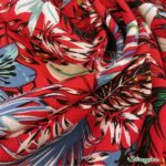 viscose florasia rouge