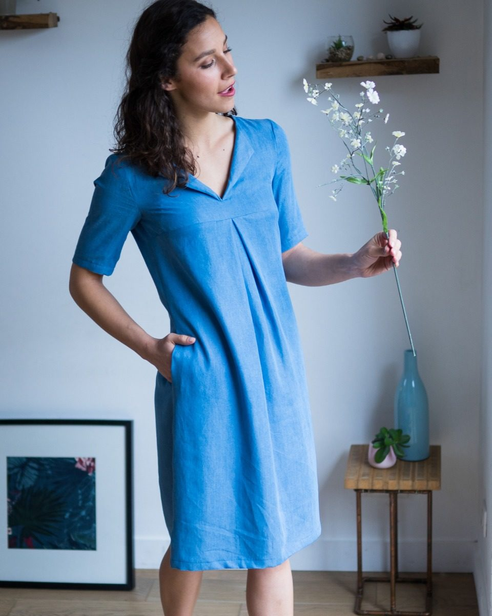 patron-couture-robe-pimpante-tencel-jean-uni