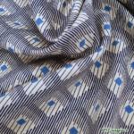 Javanaise Viscose - Losille - Bleu