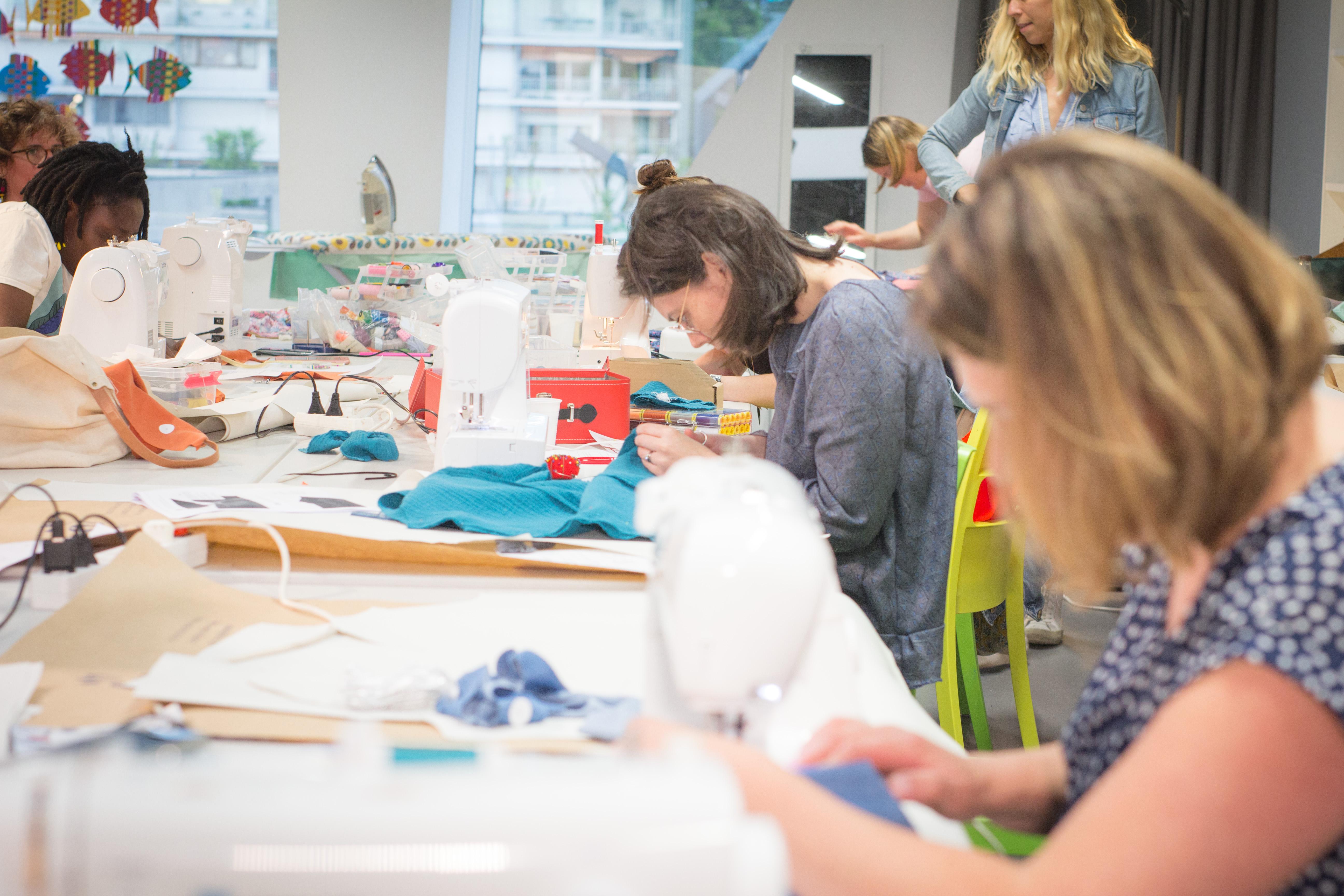 atelier de couture pour débutant à Mouvaux