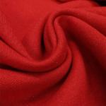 Sweatshirt molletonné scintillant - rouge carmin