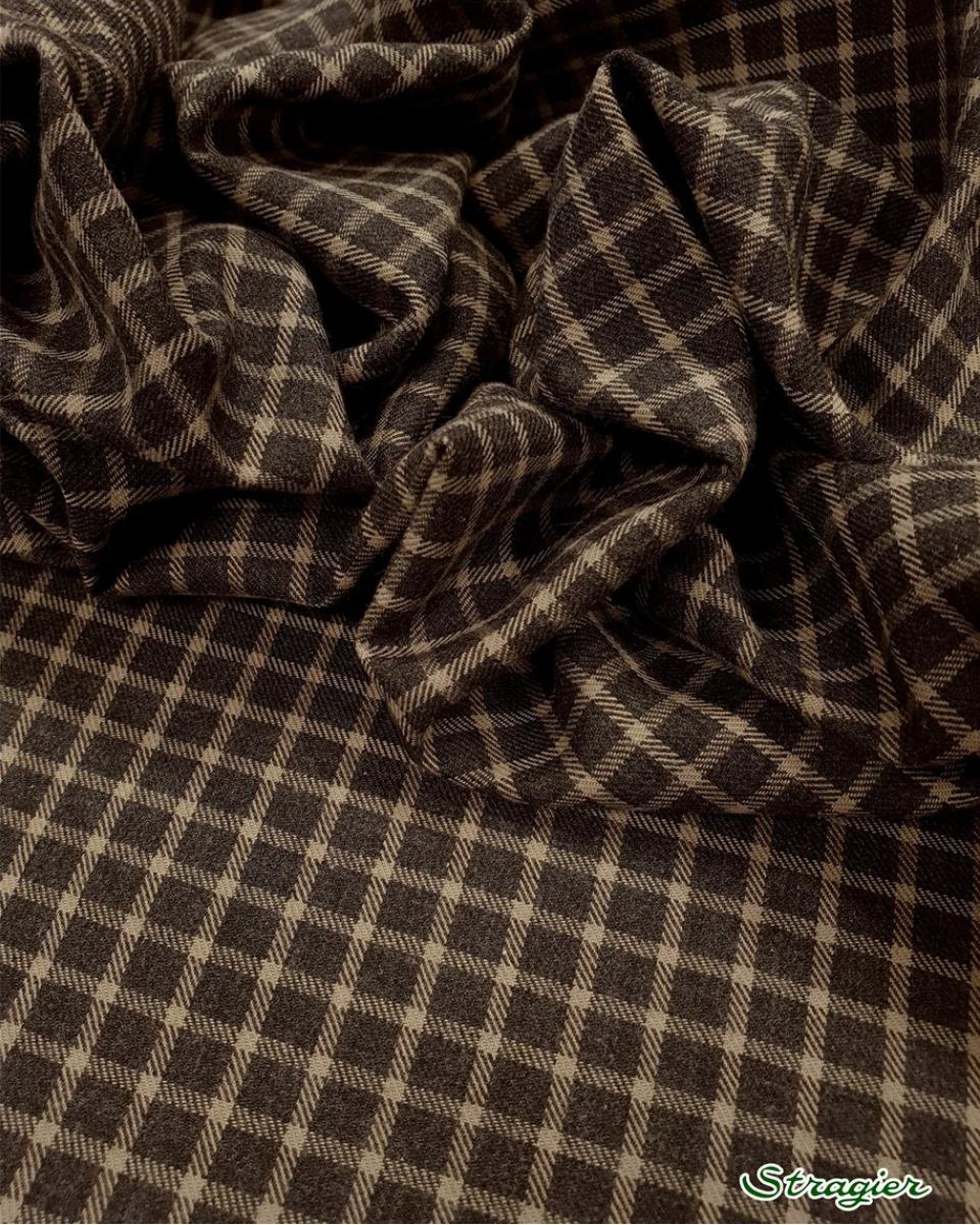 Coton gratté anthracite