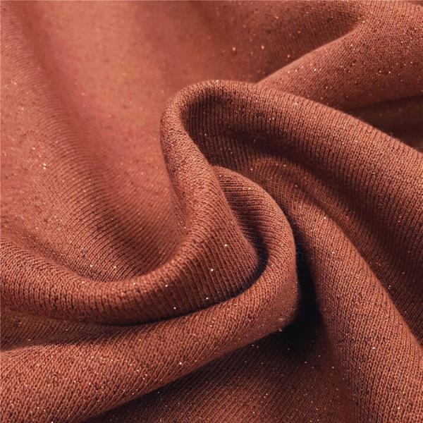 Sweatshirt molletonné scintillant