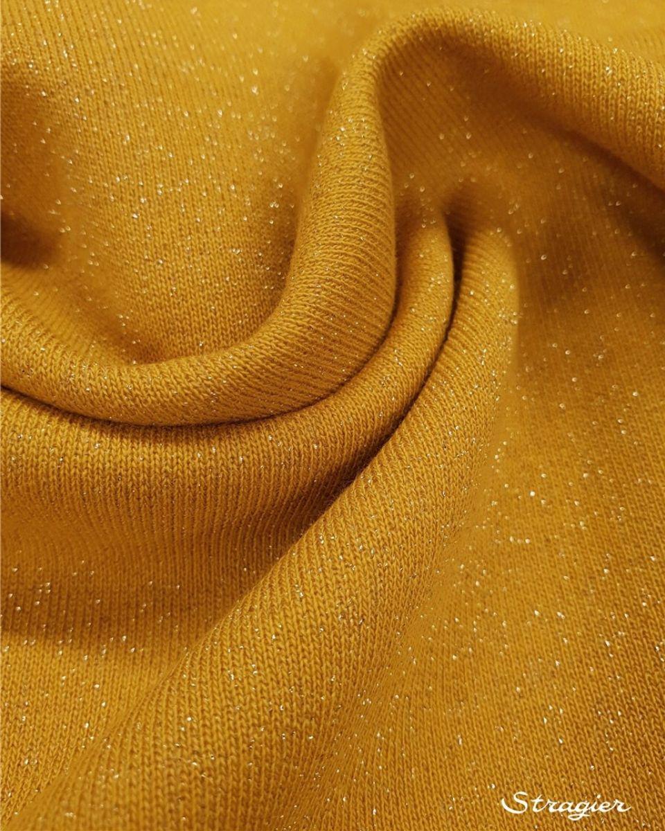 Coton Scintillant moutarde