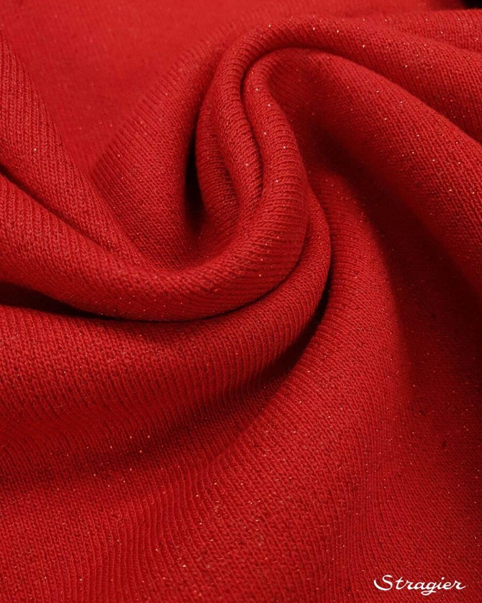 coton Scintillant rouge carmin