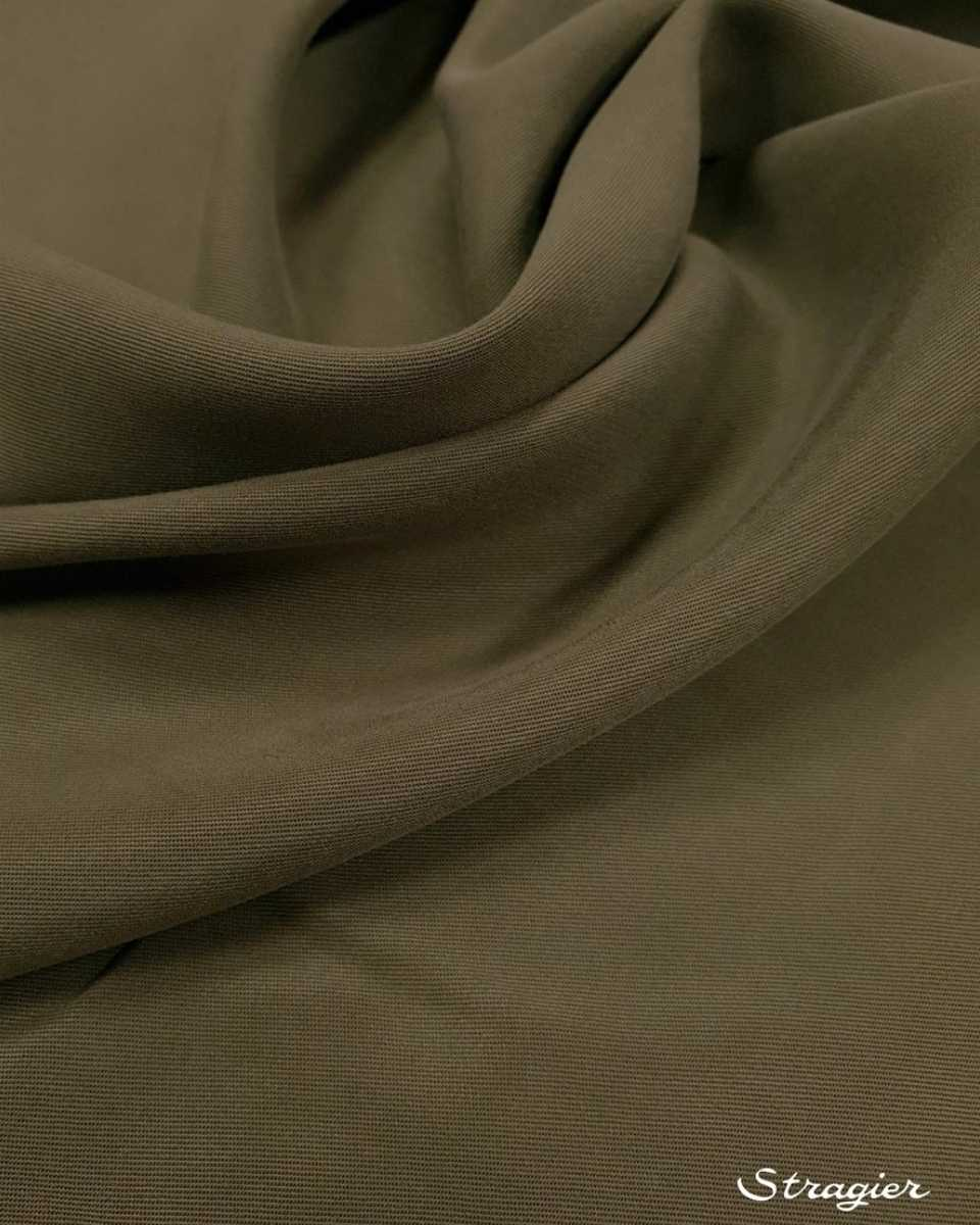 tissu tencel gris kaki