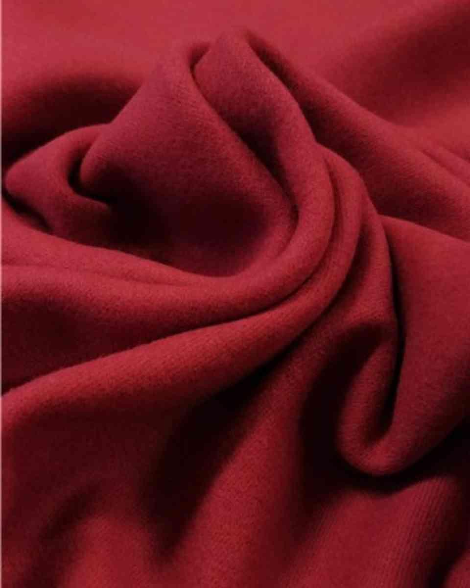 coton maille rouge cerise