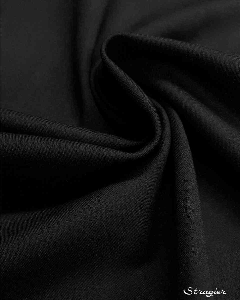 carré maille milano noire