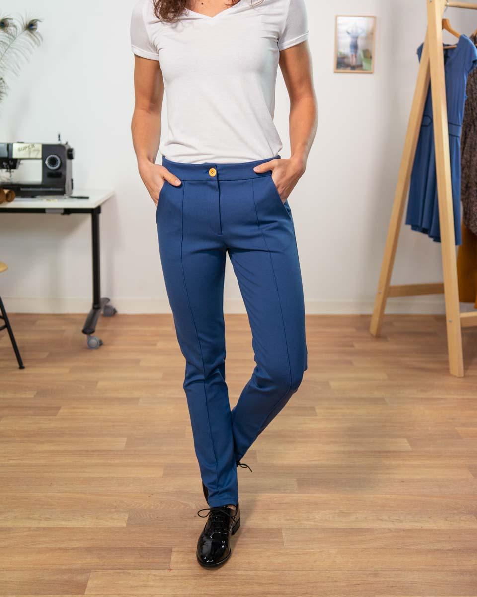 pantalon respect maille milano 3