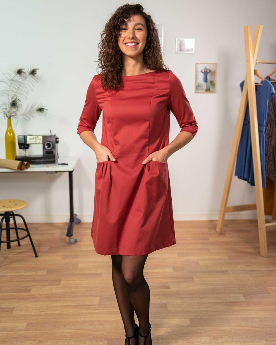 robe vogue coton serge 2