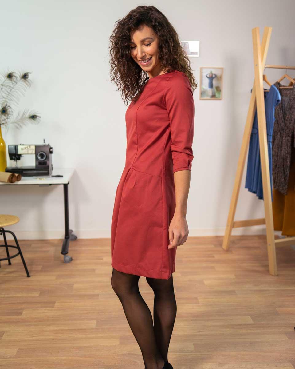 robe vogue coton serge 3