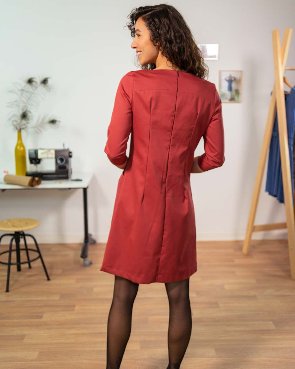 robe vogue coton serge 4