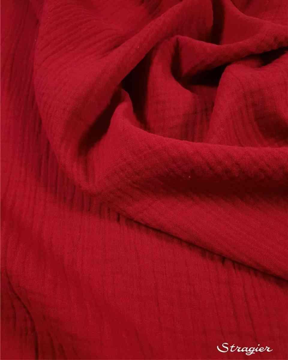 double gaze rouge rubis