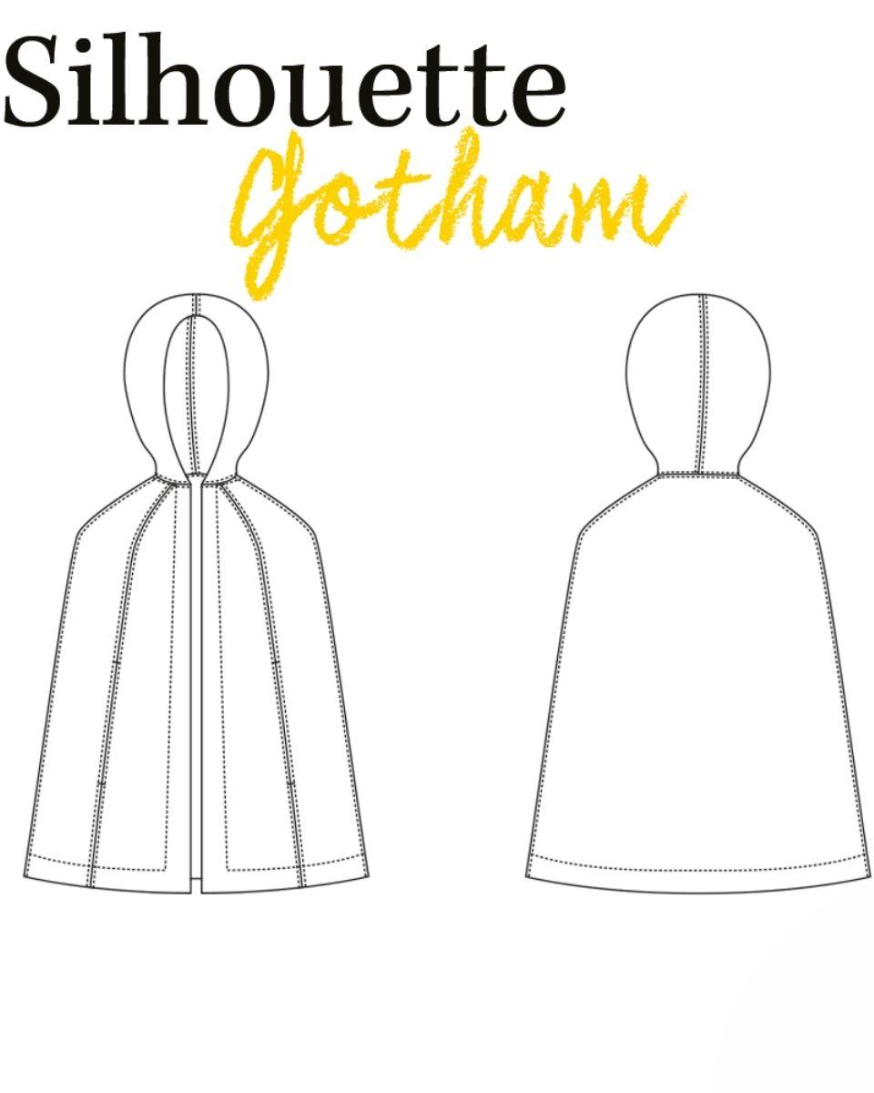 dessin-technique-cape gotham-louis-antoinette-patron-couture