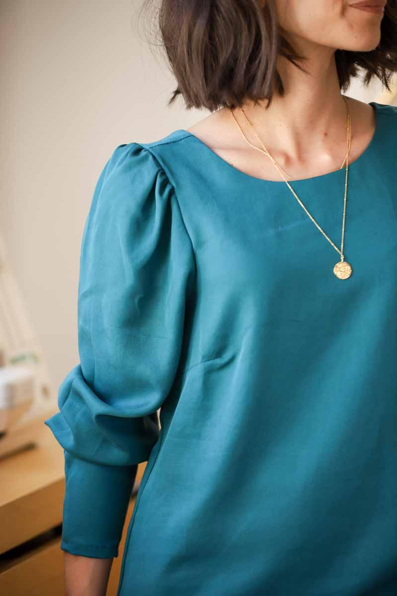 robe alice clematisse pattern détail 2